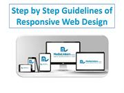 Medialinkers Step by Step Guidelines of Responsive Web Design
