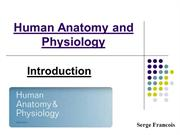 Serge Francois | Human Anatomy and Physiology