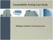 Compatibility Testing Case Study - 360Logica Software Testing