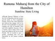 Ramona Maharaj from the City of Hamilton Sunshine State Living