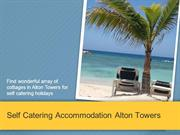 Self Catering Accommodation Alton Towers - Blakeley Barns