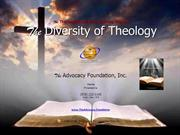 The Diversity of Theology