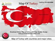 Download Online Map of Turkey Templates