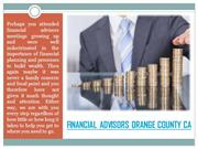 Wealth Management Orange County
