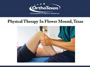 Physical Therapy In Flower Mound, Texas