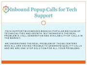 Inbound Popup Calls for Tech Support 7503020504