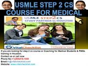 USMLE Step 2 CS course for Medical Students