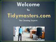 Cleaning Services - Office Cleaning - TidyMasters