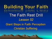 Building Your Faith Lesson 52
