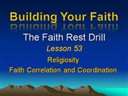 Building Your Faith Lesson 53