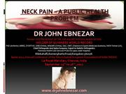 Public health Education on Neck Pain