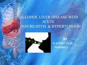 ALCOHOL LIVER DISEASE