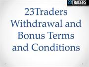 online trading service 23traders