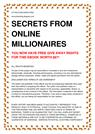 Earning thousands of dollars online