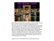 Ruth's (u)OWBC Presents: The Middle Child, Act II