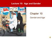 Lecture 10 - Age and Gender
