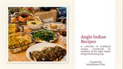 Anglo Indian Recipes - Volume I