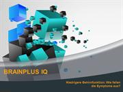 BrainPlus IQ Informationen