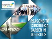 Why You Should Consider Logistics Jobs in England