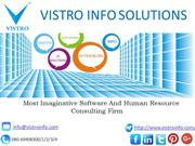 Software And HR Consulting Firm In Bangalore