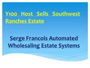 Y100 Host Sells Southwest Ranches Estate By Serge Francois