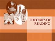 Theories of Reading