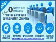 php web development and mobile app development services in Seattle