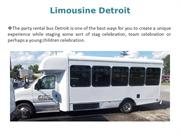 Detroit party buses