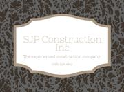 SJP Construction Inc