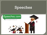 Types of speeches by Niamh Crowe