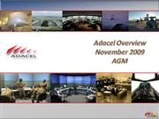 Adacel Overview November 2009
