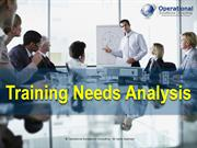 Training Needs Analysis (TNA) learning and development