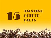 15 Amazing Coffee Facts