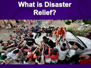What is Disaster Relief