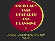 Film poster Examples Reasearch and Planning Ancillary