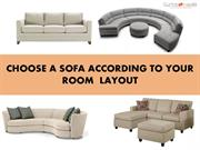 Choose a Sofa According to Your Room Layout