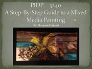 A Step-By-Step Guide to a Mixed Media Painting
