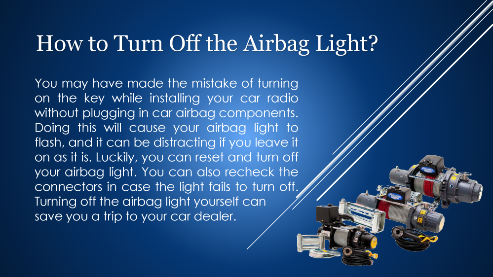 how to turn off the airbag light authorstream. Black Bedroom Furniture Sets. Home Design Ideas