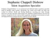 Stephanie Chappell Disbrow Talent Acquisition Specialist