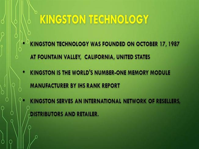 Wholesale Computer Parts Distributor of Kingston -Just it