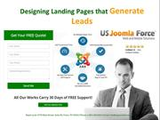 Designing Landing Pages that Generate Leads