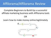 Affilorama or Affilorama Review