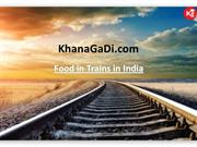 Food In Trains