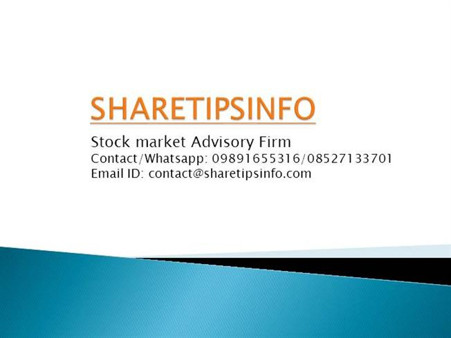 Share Market Tips from Indian Stock Market Experts |authorSTREAM