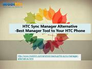 HTC Sync Manager Alternative - Best Manager Tool to HTC Phone