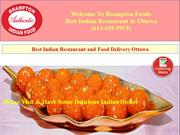 Indian Food Delivery Mackay