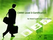 CMMI level 3 Certification