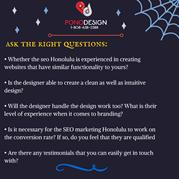 Ask The Right Questions To Web Design Honolulu