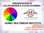 Colors Modes and Color Schemes