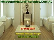 Health benefits of massage therapy- Remedial Massage Melbourne